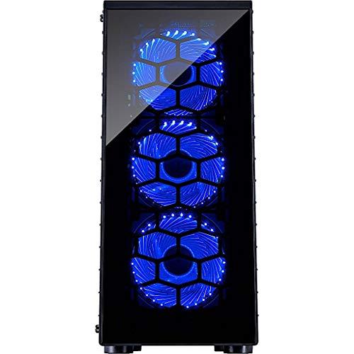 BEASTCOM Q3   Essential Gaming PC   12 cœurs Gamer   AMD Ryzen 3 3200G 4X 4,00 GHz   4K Vega 8 cœurs   16 Go de RAM   SSD 512 Go   HDMI   USB 3.2   WiFi   Windows 10