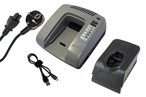 PowerSmart® Cargador para Bosch GKS 18 V, GKS 24 V, GLI 12 V, GLI 12 V, GLI 14.4 V, GLI 18 V, GLI 24 V, GLI 9.6 V, GMC 24 V, GML 24 V, GML 24 V-CD, GNS 7.2 V, GSA 18 VE, GSA 24 V, GSA 24 VE