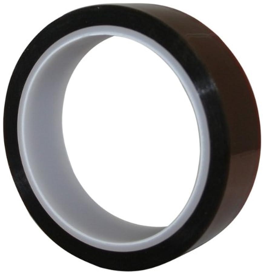 Maxi 828K Kapton Premium Grade Polyamide Film Tape with 1.5 mil Silicone Adhesive, 2.5 mil Thick, 36 yds Length, 3