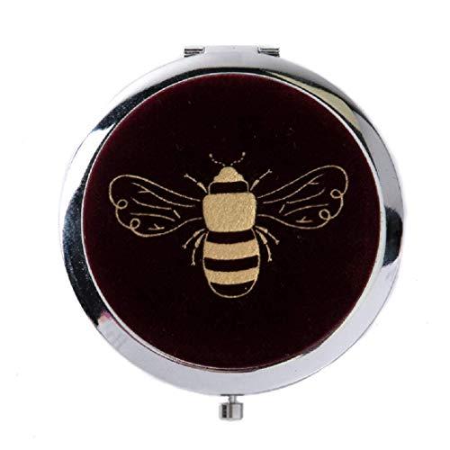 Fluwelen Honing Bijen Accessoires Bereik Compact Mirror