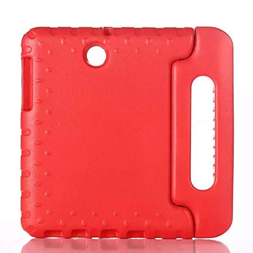 GHC PAD Cases & Covers For Samsung Galaxy Tab S2 8.0 Inch, Shockproof EVA Case Stand Cover Case Kids Child Safe Cover for Samsung Galaxy Tab S2 8.0 SM-T710 T715 T713 (Color : Red)