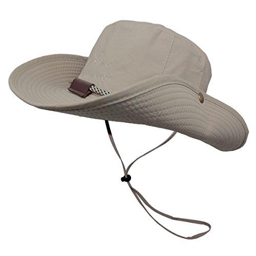 OMECHY Waterproof Outdoor Bucket Hat Summer UV Protection Sun Cap