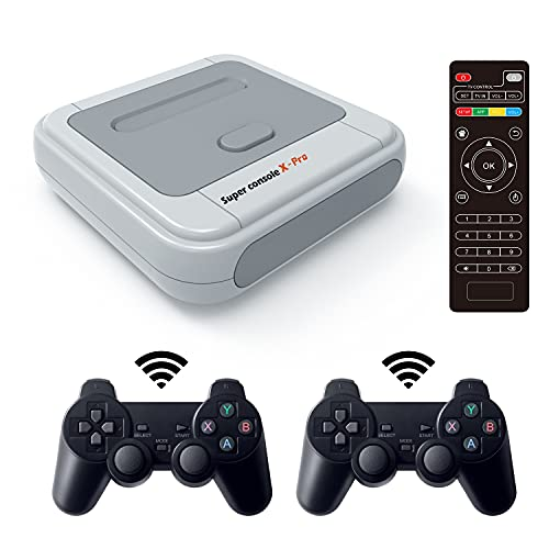 Kinhank Super Console X PRO 256GB Built in 50,000+ Classic Games,Retro Video Gaming Consoles for 4K...