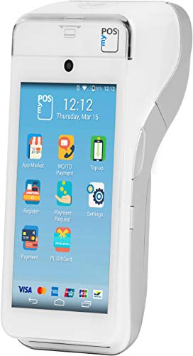 myPOS Smart - Ein POS Terminal mit Android-Betriebssystem | Papier Drucker | Kontaktlose Zahlungen