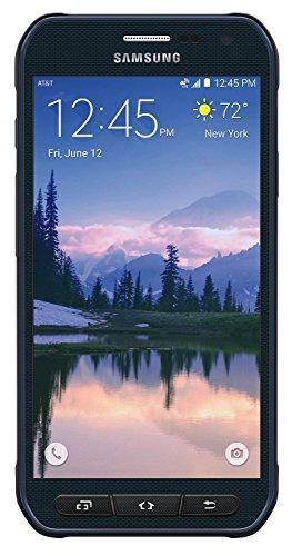 Samsung Galaxy S6 Active G890A 32GB 16MP Camera Unlocked GSM 4G LTE Octa-Core Smartphone, Blue