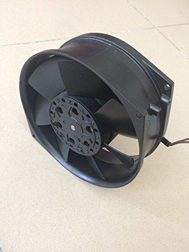 ueBEST AC axial Fan 17255, All Metal, high Wind, high air Pressure Cooling Fan,220V AC 172mm by 150mm by 55mm High Speed