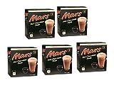 Mars / Twix Bebida Chocolate Dolce Gusto - 8 capsulas (Mars, 5 Cajas: 40 capsulas)