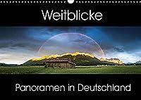 Weitblicke - Panoramen (Wandkalender 2022 DIN A3 quer): Faszinierende Landschaften im Panoramaformat (Monatskalender, 14 Seiten )