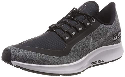 Nike Men's Air Zoom Pegasus 35 Shield, Black/White/Cool Grey/Vast Grey, 10.5
