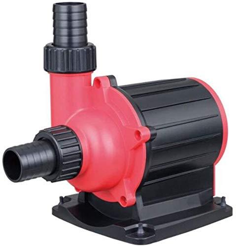 Haojie Aquarium Wasserpumpe Mute Frequenzumsetzung Pumpe Energiesparwasserfrequenzumsetzung Pump [Energie Stufe A],3500L/H
