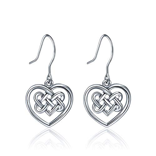 925 Sterling Silber Celtics Love Knot...