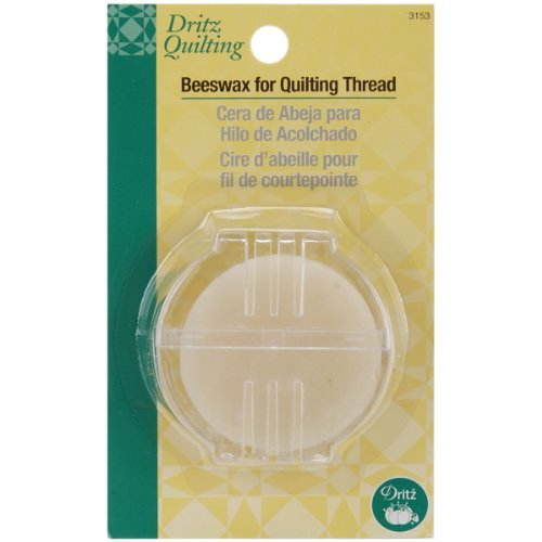 Dritz 3153 Beeswax for Quilting Thread with Holder