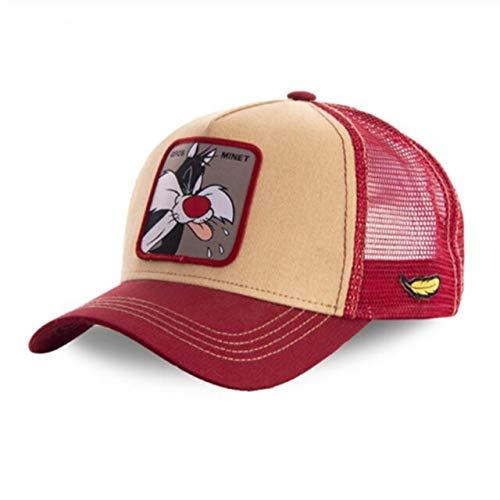 Gorra Snapback Gorra de béisbol de algodón Hombres Mujeres Hip Hop Papá Sombrero de Malla Trucker-Gros