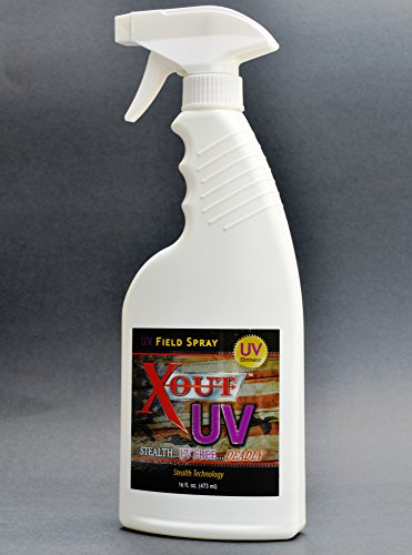 Fantastic Deal! Pure One Outdoors X-Out UV - Hunting UV Elimination Spray - Controls Camouflage Ultr...
