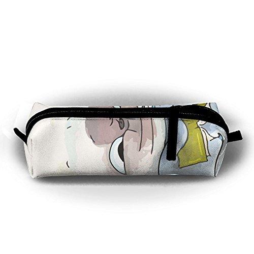Dusche Funny Französische Bulldogge Student Federmappe mit Reißverschluss Kosmetiktasche Tasche klein Münzfach?, für Kinder Teenager und anderen Schulbedarf