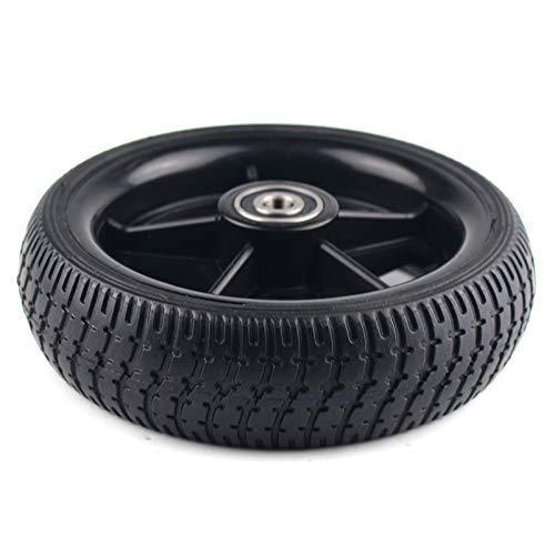 HUAQINEI Neumáticos de Scooter eléctrico, neumático de Rueda de Scooter de Rueda de 6.5 Pulgadas para Ruedas Originales de fábrica traseras