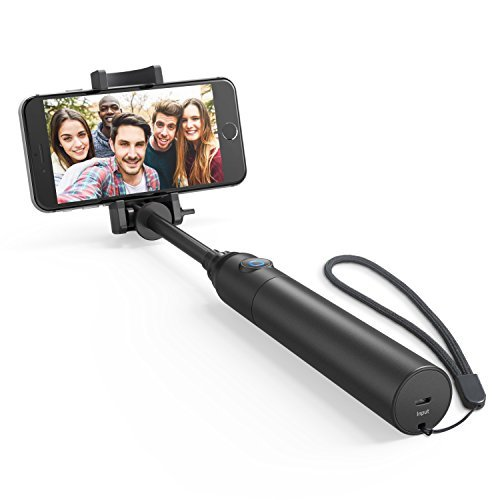 Selfie Stick, Anker Bluetooth Highly-Extendable and Compact Handheld Monopod with 20-Hour Battery...