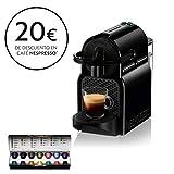 Nespresso DeLonghi Inissia EN80.B - Cafetera monodosis de cápsulas Nespresso, 19 bares, apagado automático, color negro