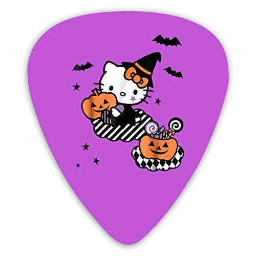 Sgrtyx Hello Kitty The 12 Pcs Guitar Picks are Diverse, and are Used for Electric Guitar, Bass Or Ukulele Color High-Grade Celluloid Picks.