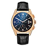 ➤Display: Analog & Band Material:Leather & Case Diameter: 42mm & Band Length:25mmm ➤NOTE:Daily Water Resistant. You can wear it wash your hand. But not for swimming! ➤Watches women,watches women clearance,mesh steel bracelet,wrist watch for wpmen ,wr...