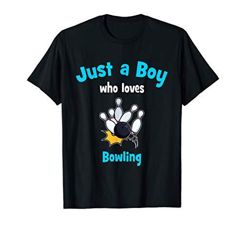 Bowling-Shirt für Jungen | Kinder-Bowling T-Shirt
