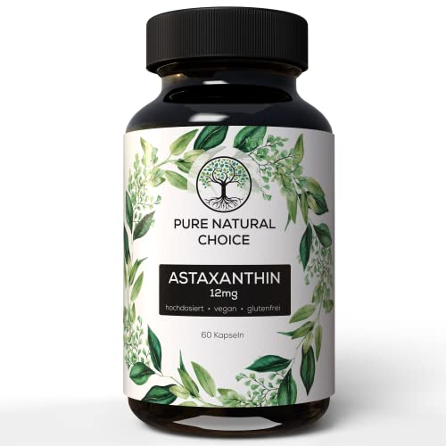 Pure Natural Choice -   Astaxanthin 12 mg