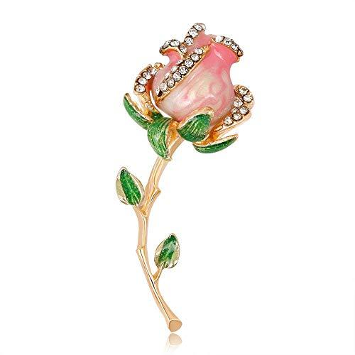 Yunfeng Damen Brosche Brosche Vintage Persönlichkeit Brosche Legierung Set Bohrer Eidechse Gecko Vier Klaue Schlange Diamant Brosche weibliche
