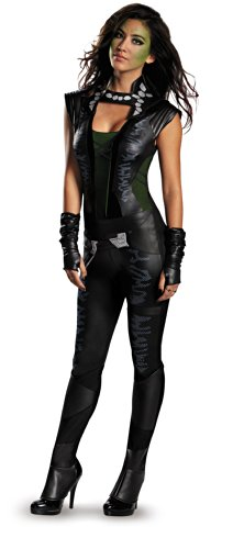 Guardians Of The Galaxy Marvel Deluxe Gamora Adult Costume 8-10