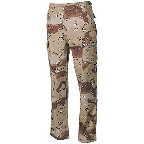 MFH BDU Combat Trousers Ripstop 6-Colour Desert Size 3XL