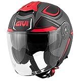 Casco Uomo Jet Planet Hyper Moto Givi Helmet Jet Taglia M HX22FHYBF58