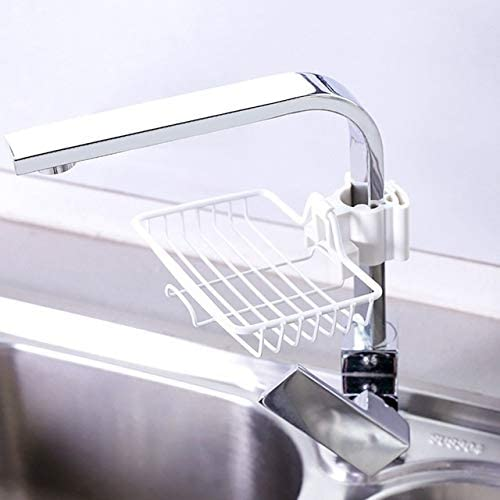 HGHGF Kitchen Supplies Iron Sink Ba Hanging price OFFicial shop Punch Faucet Storage