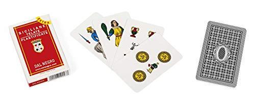 Dal Negro - Siciliane Extra Gioco da Carte, Colore Multicolore, 014009