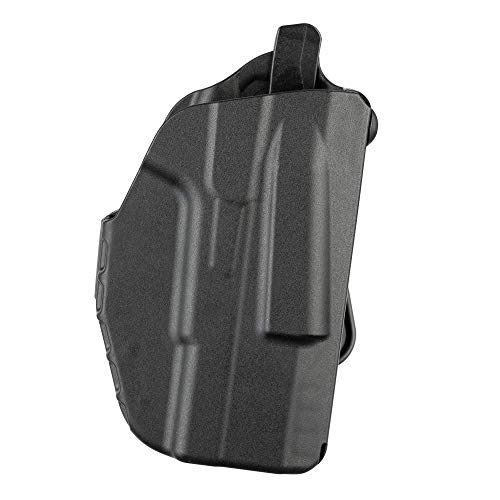 Safariland, 7371, ALS Concealment Paddle Holster, Fits: S&W M&P Shield 9mm.40, Black - STX Plain, Right Hand