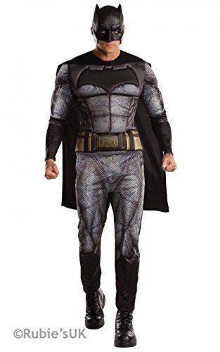 BATMAN V SUPERMAN Batman Deluxe ~ Dawn of Justice - Adult Costume Men: STD (38-42 Chest) by Rubies