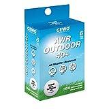 GEWO AWR Outdoor Table Tennis Ball 40+