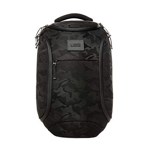 Urban Armor Gear Midnight Camo Backpack for Laptops and Tablets up to 13 Inches (18 Litres, Maximum Wearing Comfort Ergonomic Padding, Weatherproof Zips, Wear-Resistant)