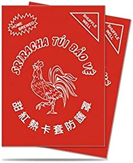 Ultra Pro Sriracha Standard Deck Protector Sleeves 50ct