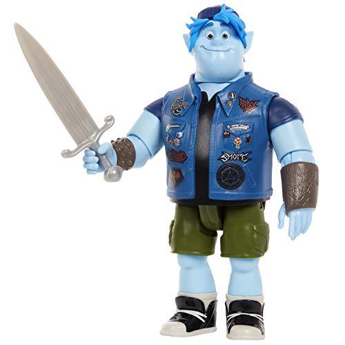Disney Pixar- Onward Barley Personaggio Articolato, GMM16