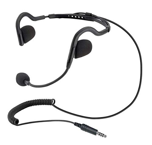 Rugged Radios H10-OFF H10 Ultralight Headset for Offroad Intercoms Featuring Earbuds and Microphone