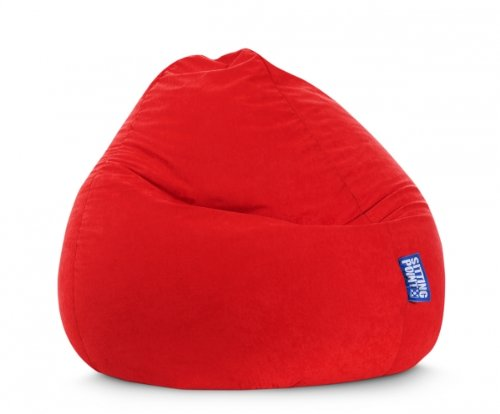 SITTING POINT only by MAGMA Sitzsack Easy XXL ca. 300 Liter Tomate