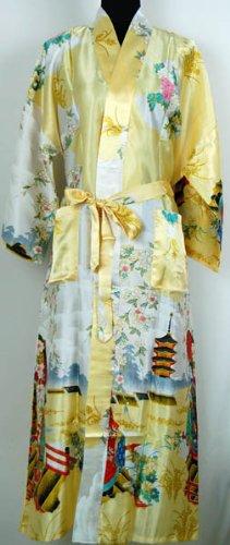 Shanghai Tone® Kimono Pijama Albornoz Vestido de cámara