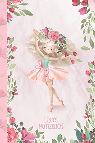 Lina's Notizbuch: Zauberhafte Ballerina, tanzendes Mädchen