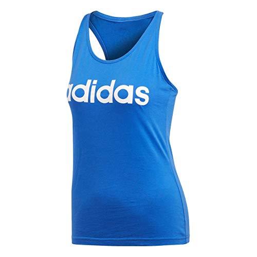 adidas ESS LI SLI Tank Camiseta de Tirantes, Mujer, Hirblu, L