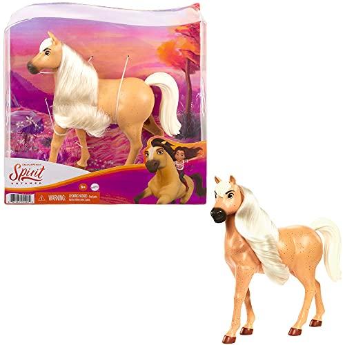 Spirit -Cavallo con Testa Mobile e Lunga Criniera, Giocattolo per Bambini 3+ Anni, GXD97