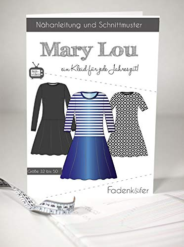 Schnittmuster Fadenkäfer Mary Lou - Erwachsene in den Größen 32-50 Papierschnittmuster