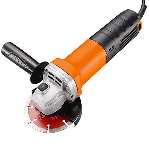 Meuleuse d'angle, 220 V, W 1450 haute puissance, multifonction, meuleuse d'angle ménagers, outils électriques de polissage et de la machine de coupe, pour la coupe, le meulage, le polissage.,Orange