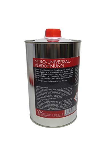 SDV Chemie Universalverdünnung 1x 1 Liter 1000ml 1L Nitroverdünnung Waschverdünnung Lackverdünner