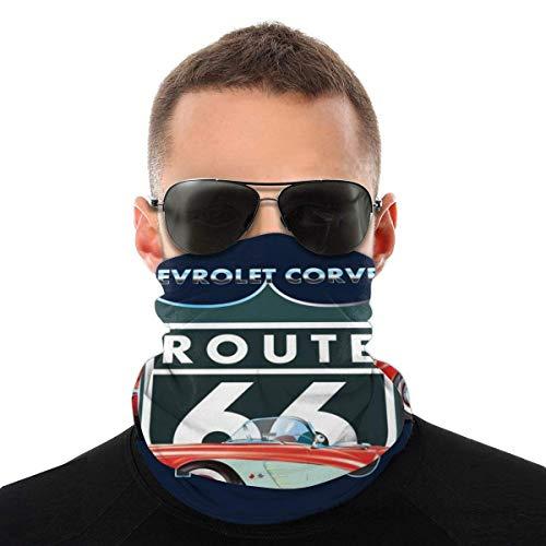 Chevy Corvette Route 66 1960 Variety - Pañuelo para la cara