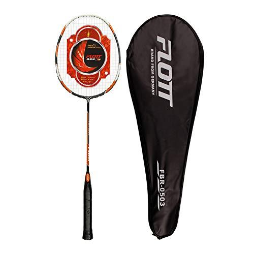YoungLA Badminton Racket Shuttle Bat with Carrying Case | Single Racquet | 0503