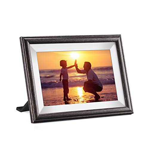 Digital Picture Frame, Pastigio 10.1 Inch HD Touch Screen Digital Photo Frame, 16GB Memory, Auto-Rotate, Wall Mountable, WiFi Cloud Share Videos and Photos via App, Email, Easy Set-up Digital Frames Picture